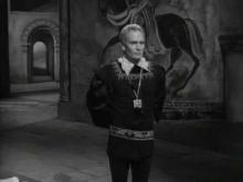 Hamlet, 1948, Act 1, Scene 2: Olivier as Hamlet