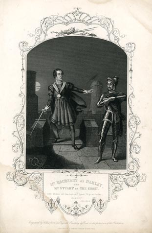 the character of hamlet in the play hamlet by william shakespeare Hamlet the prince of denmark, the title character, and the protagonist about  thirty years old at the start of the play, hamlet is the son of queen.