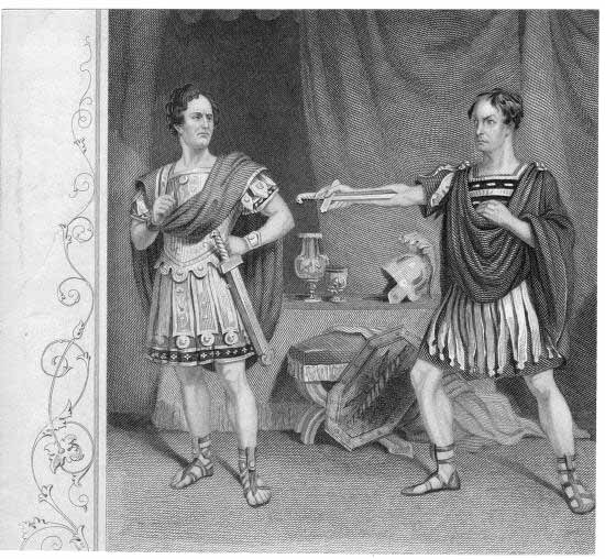 an analysis of the character brutus in the play julius caesar by william shakespeare Julius caesar - a great roman general and senator, recently returned to rome in triumph after a successful military campaign while his good friend brutus worries that caesar may aspire to dictatorship over the roman republic, caesar seems to show no such inclination, declining the crown several times.