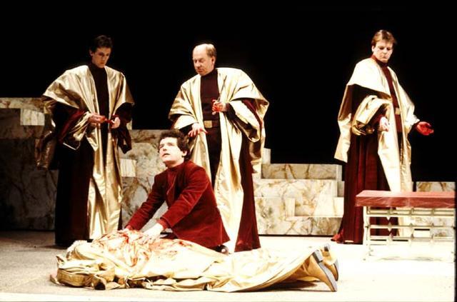 Julius Caesar, Royal Shakespeare Company, 1983 | Shakespeare's Staging