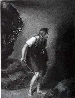 Cymbeline: Imogen at the Cave