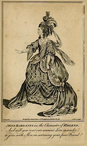 A Midsummer Night's Dream, Mrs. Barsanti as Helena