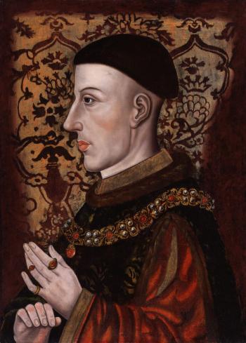 Medieval Portrait: King Henry V
