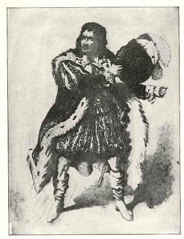 Junius Brutus Booth (1796-1852) as Richard III