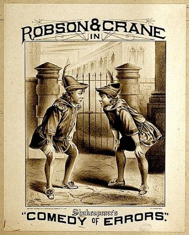 The Comedy of Errors: Robson and Crane as the Two Dromios