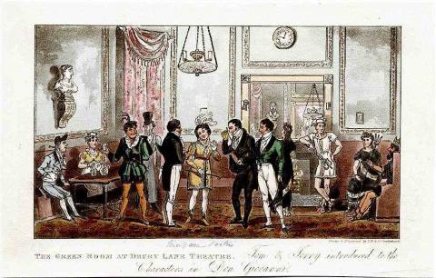 Drury Lane Theatre Green Room