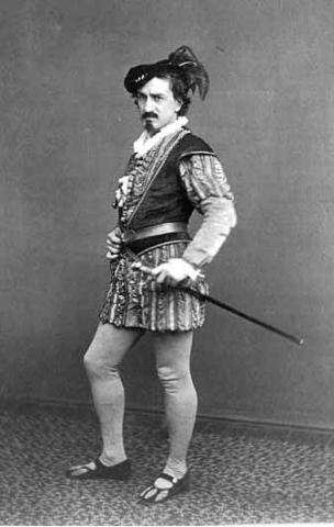 Othello: Edwin Booth as Iago