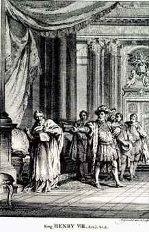 Henry VIII: Betterton as Henry VIII