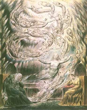 Henry VIII: Queen Katherine's Dream by William Blake