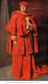 Henry VIII: Herbert Beerbohm Tree as Cardinal Wolsey