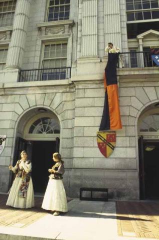 A Balcony Scene in Much Ado.