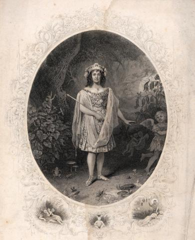 A Midsummer Night's Dream: Lizzie Weston as Oberon