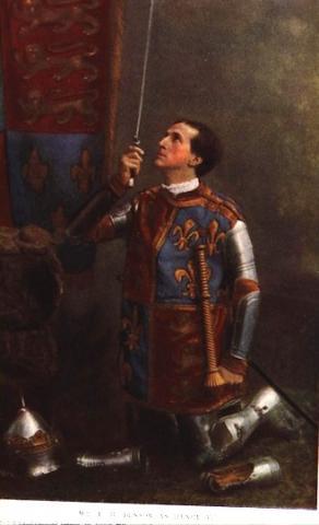 Henry V, 1900: Frank Benson (1858-1939)- Henry V.