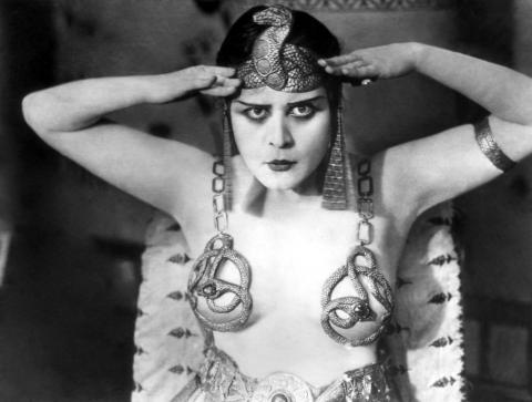 Antony and Cleopatra, Theda Bara as Cleopatra, 1917