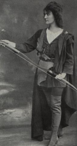 As You Like It, Nora Lancaster as Rosalind, 1909