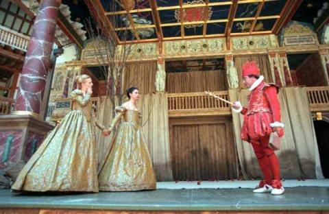 As You Like It, Shakespeare's Globe, 1998