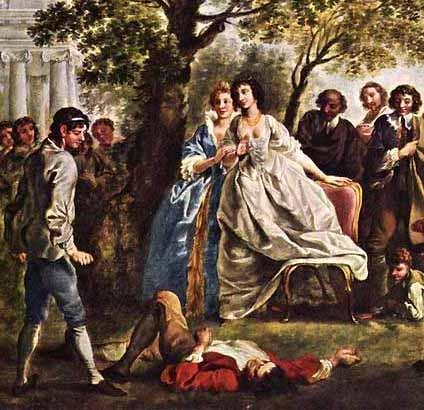 As You Like It, The Wrestling Scene, 1750