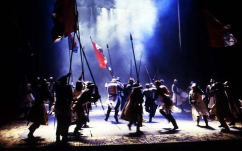 Edward IV (a version of Henry VI Part 3), Royal Shakespeare Company, 1988