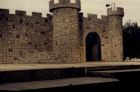 First Folio Shakespeare Festival,Oakbrook, IL.: Macbeth Set,2001.
