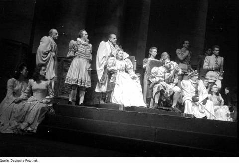 Hamlet, Deutschen Theater, 1945