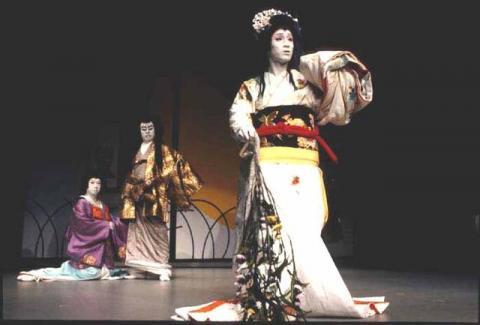 Hamlet, Tokyo Globe, 1991