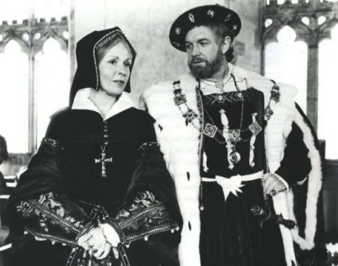 Henry VIII: Claire Bloom as Queen Katherine
