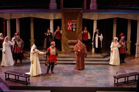 Henry VIII, Illinois Shakespeare Festival, 2005