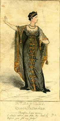 Henry VIII, Sarah Bartley (1783-1850) as Queen Katherine