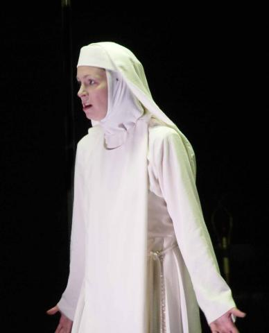 Isabella in Measure for Measure at the Bruns Theatre of the California Shakespeare Theatre, 2003.