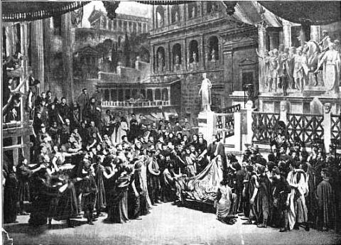 Julius Caesar, Her Majesty's Theatre, 1898