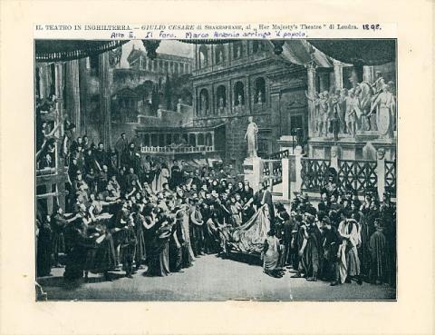 Julius Caesar, Herbert Beerbohm Tree as Mark Antony