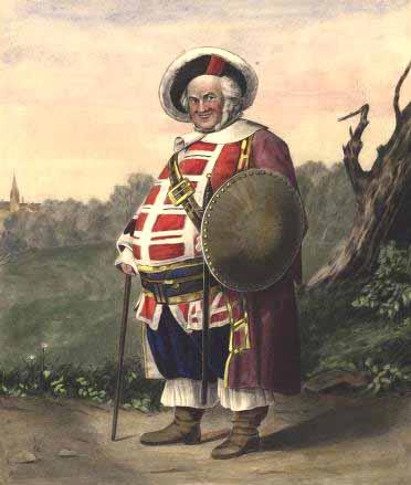 King Henry IV, Part 1, James Henry Hackett as Falstaff, 19th Century
