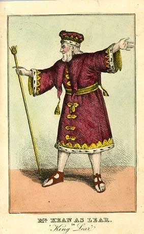 King Lear, Edmund Kean as Lear