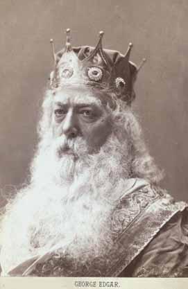 King Lear, George Edgar (1841-1921) as Lear, 1879
