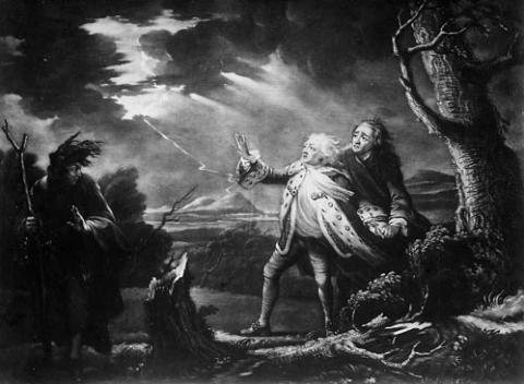 King Lear, London Drury Lane Theatre, 1761