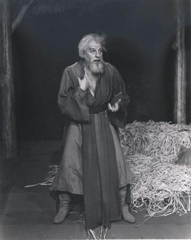 King Lear, Louis Calhern as King Lear, 1956