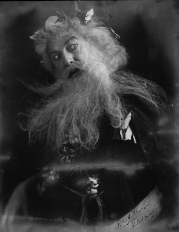 King Lear, Robert Bruce Mantell as King Lear, 1908