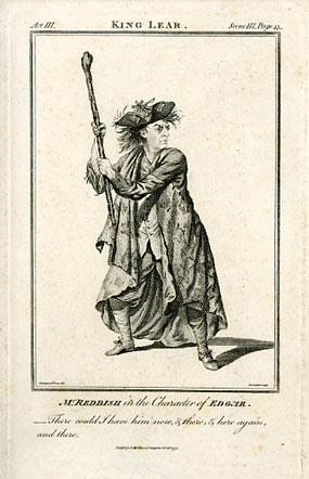 King Lear, Samuel Reddish as Edgar