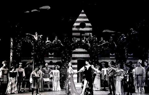 *Kiss Me Kate [Musical based on The Taming of the Shrew], New York, 1950.