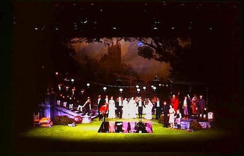 Love's Labour's Lost, American Repertory Theatre, 1985