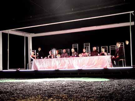 Macbeth at the Bruns Theatre: California Shakespeare Theatre, 2002.