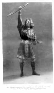 Macbeth, Forbes Robertson as Macbeth, 1898