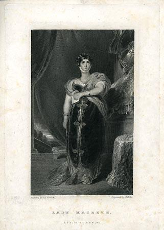 Macbeth, Mrs. Sarah Siddons as Lady Macbeth