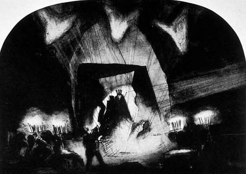 Macbeth, Set Design by Robert Edmond Jones, 1921