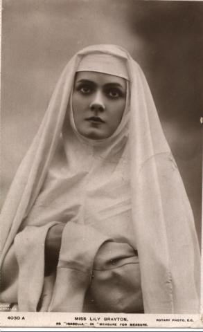 Measure for Measure, Lily Brayton as Isabella, 1907