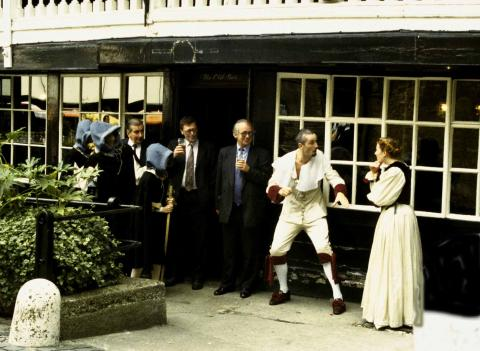 """""""Much Ado About Nothing"""" at the George Inn"""