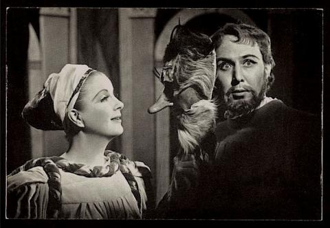 Much Ado About Nothing: Peggy Ashcroft as Beatrice and John Gielgud as Benedick