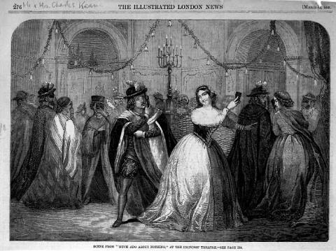 Much Ado About Nothing, Princess' Theatre, 1859