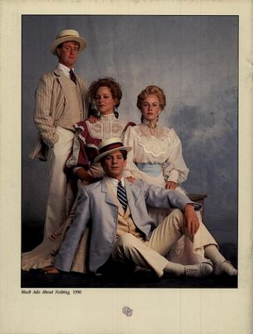 Much Ado About Nothing, Program of the Colorado Shakespeare Festival, 1990
