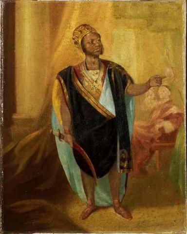 Othello, Ira Aldridge as Othello, 1848